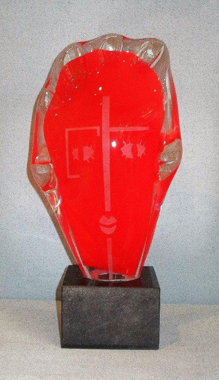 Franz Winkelkotte - Glaskopf rot