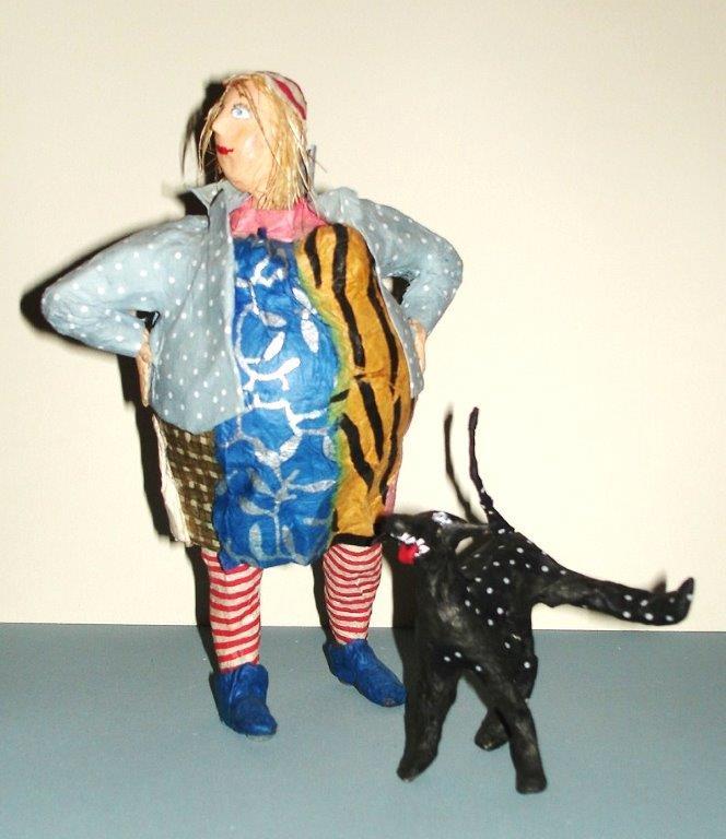 Siegert Binder Dorothea - Frau mit Hund