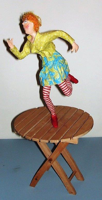 Siegert Binder Dorothea - Tina tanzt auf dem Tisch